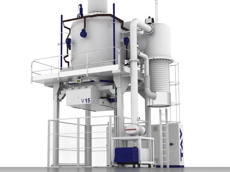 Vertical vacuum furnaces<br/>Top or bottom load